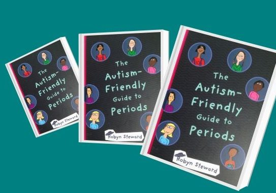 Book cover- Autism friendly guide to periods